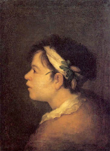 Bartolomé Esteban Murillo (Pérez) - Boy with crown