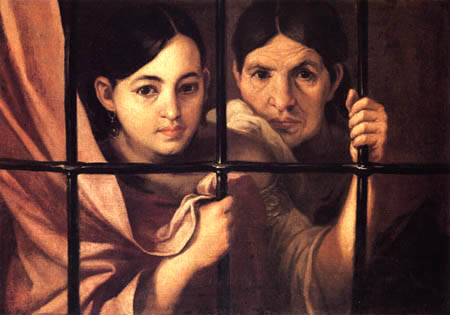Bartolomé Esteban Murillo (Pérez) - Women behind the grid