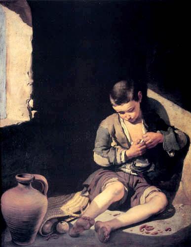 Bartolomé Esteban Murillo (Pérez) - The street Urchin