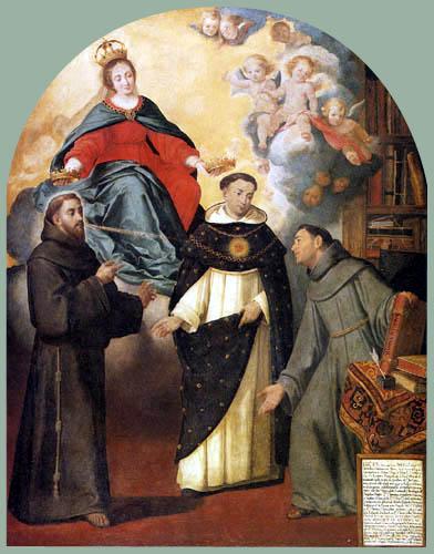 Bartolomé Esteban Murillo (Pérez) - The Vision of Friar Lauterio