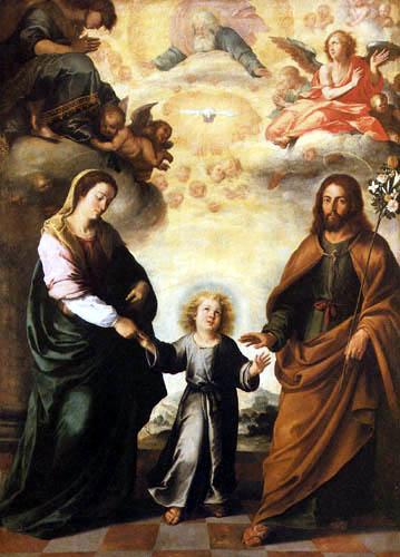 Bartolomé Esteban Murillo (Pérez) - The Two Trinities