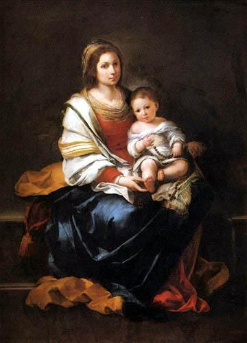 Bartolomé Esteban Murillo (Pérez) - Virgin of the Rosary