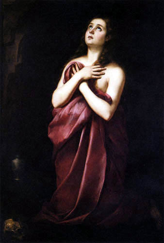 Bartolomé Esteban Murillo (Pérez) - The Penitent Magdalen