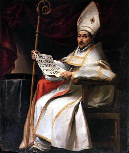 Bartolomé Esteban Murillo (Pérez) - Saint Leander