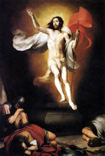 Bartolomé Esteban Murillo (Pérez) - The Resurrection of Christ