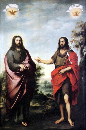 Bartolomé Esteban Murillo (Pérez) - St. John the Baptist Pointing to Christ
