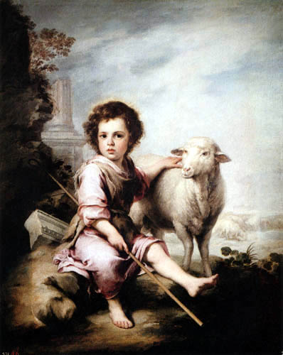Bartolomé Esteban Murillo (Pérez) - The Good Shepherd