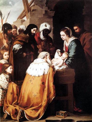 Bartolomé Esteban Murillo (Pérez) - Adoration of the Kings