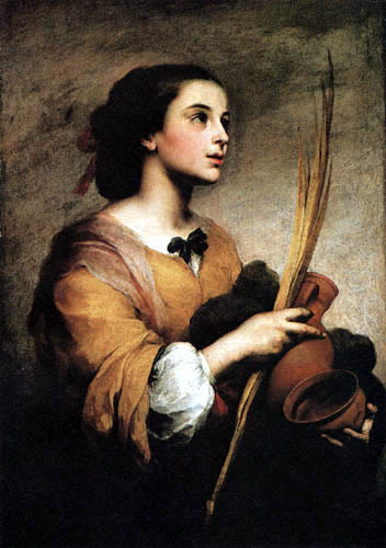 Bartolomé Esteban Murillo (Pérez) - Santa Justa