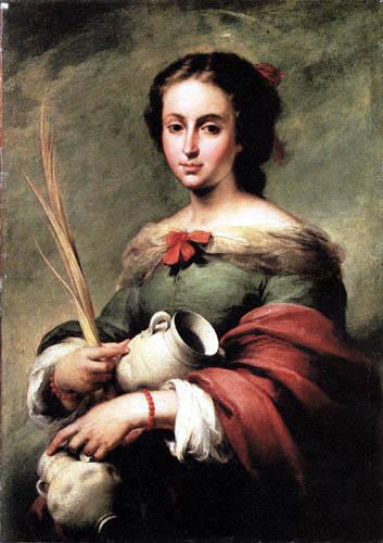 Bartolomé Esteban Murillo (Pérez) - Santa Rufina
