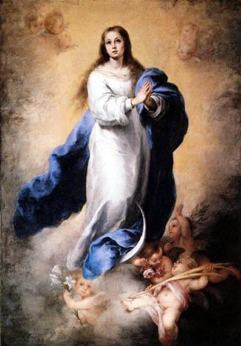 Bartolomé Esteban Murillo (Pérez) - Immaculate Conception of the Escorial