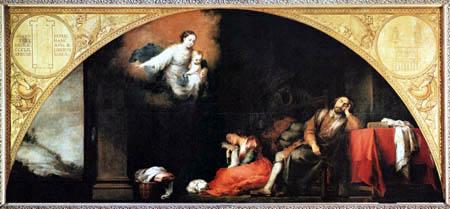 Bartolomé Esteban Murillo (Pérez) - The Dream of the Patrician