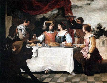 Bartolomé Esteban Murillo (Pérez) - The Prodigal Son Feasting