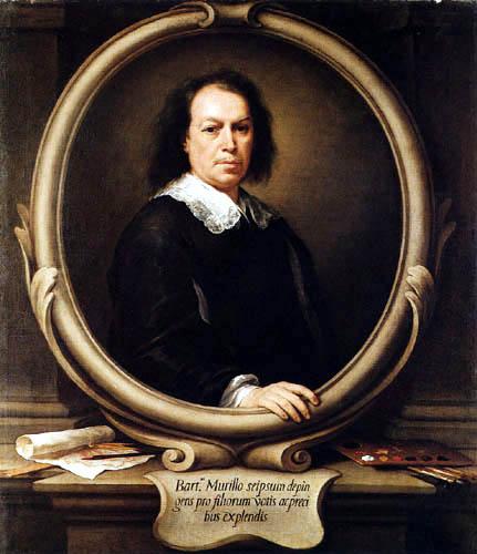 Bartolomé Esteban Murillo (Pérez) - Selfportrait