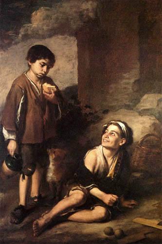 Bartolomé Esteban Murillo (Pérez) - Invitation to the Game of Pelota