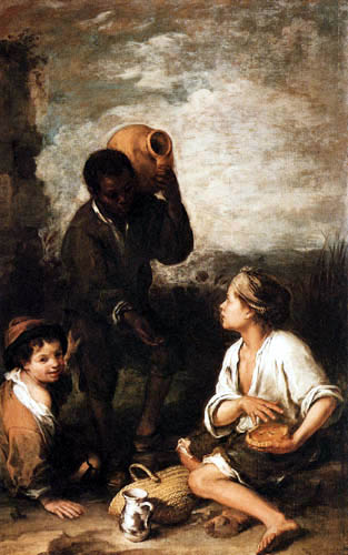 Bartolomé Esteban Murillo (Pérez) - Three Boys