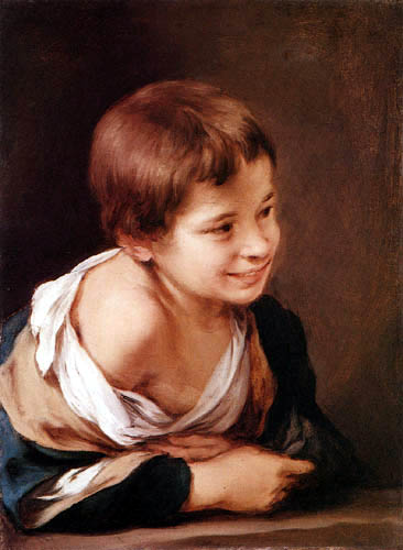 Bartolomé Esteban Murillo (Pérez) - Laughing Boy