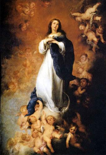 Bartolomé Esteban Murillo (Pérez) - Immaculate Conception de Los Venerables