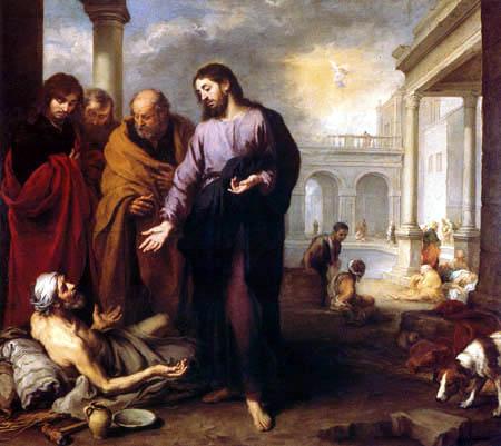 Bartolomé Esteban Murillo (Pérez) - The Healing of the Paralytic at the Pool of Bethesda