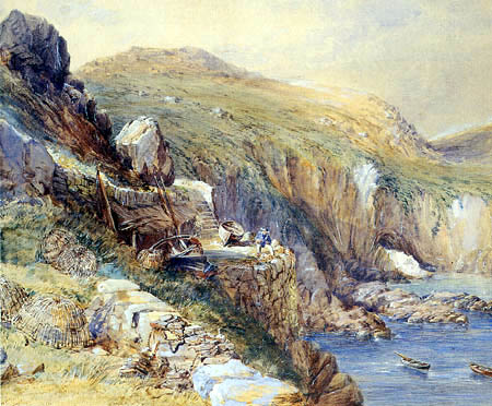 Paul Jacob Naftel - Le Gouffe, Guernsey