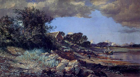 Paul Jacob Naftel - On the East Coast, Guernsey
