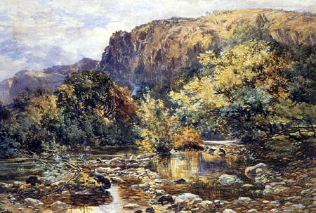 Paul Jacob Naftel - A well-known Spot, North Wales