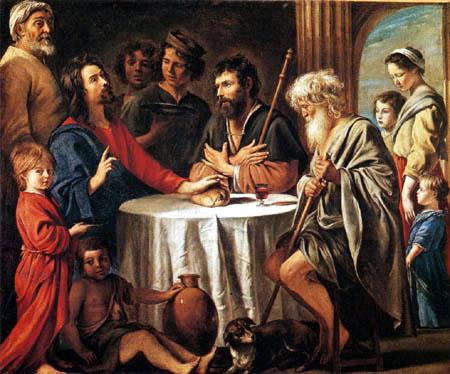 Lois le Nain - Supper at Emmaus