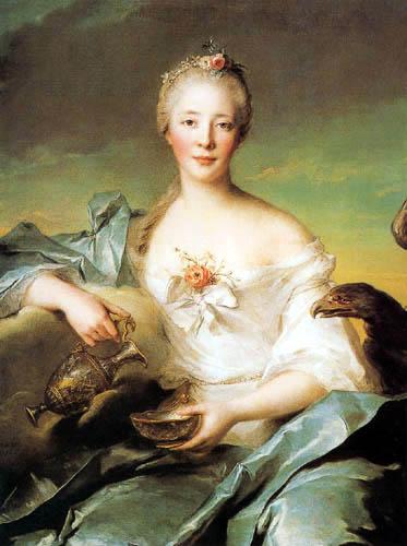 Jean-Marc Nattier the Younger - Madame de Caumartin en Hébé