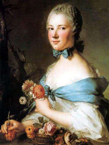 Jean-Marc Nattier the Younger - Madame Perrin de Cypierre
