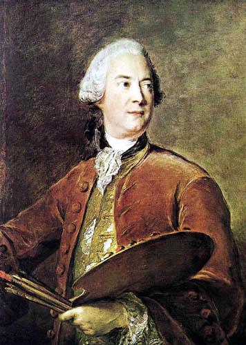 Jean-Marc Nattier the Younger - Portrait of Louis Torqué