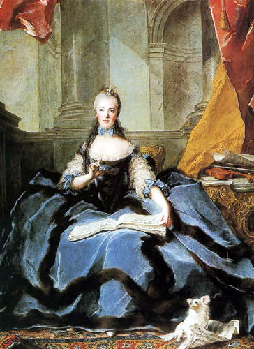 Jean-Marc Nattier the Younger - Madame Adélaïde