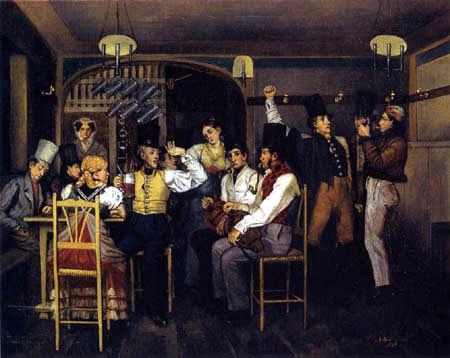 Johann Michael Neder - Pub scene