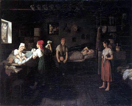Johann Michael Neder - La mañana en la cámara de las muchachas