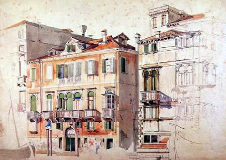 Friedrich Nerly (Nehrlich) - House front