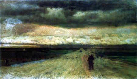 Giuseppe de Nittis - Storminess to brew
