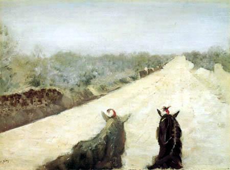 Giuseppe de Nittis - Von der Kutsche herab