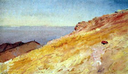 Giuseppe de Nittis - Gelbes Gebirge