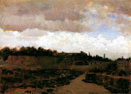 Giuseppe de Nittis - Landscape in the dawn