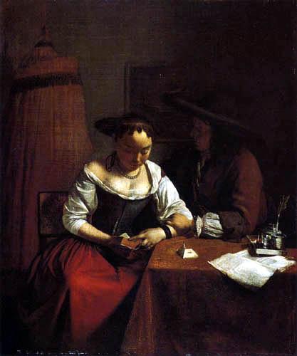 Jacob Ochtervelt - Der Liebesantrag