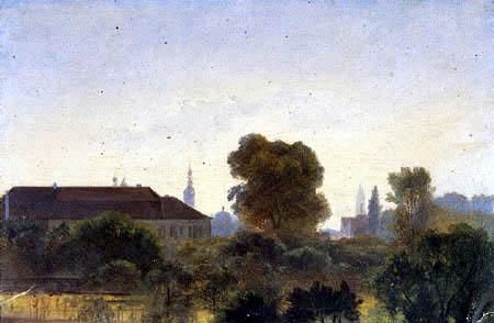 Ernst Ferdinand Oehme - View of Dresden