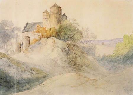 Ernst Ferdinand Oehme - Castle Scharfenberg