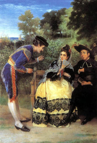 William Oliver - Flirtation