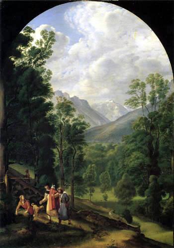 Ferdinand Olivier - Landscape near Berchtesgaden