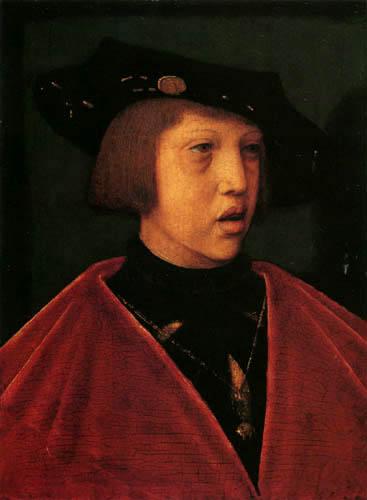 Bernaert van Orley - Archduke Carl with ten years