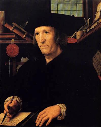 Bernaert van Orley - A secretary by Carl V