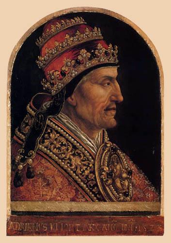 Bernaert van Orley - Pope Adrian VI.