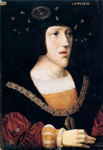 Bernaert van Orley - Portrait of young Carl V