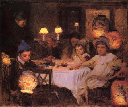 Walter F. Osborne - The Birthday Party