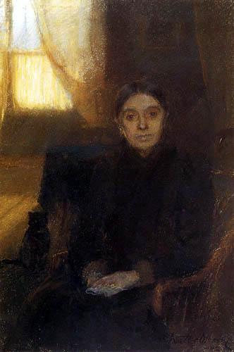 Walter F. Osborne - Annie Jane Osborne, The Artist´s Mother