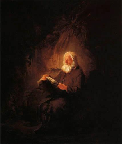 Adriaen van Ostade - The Hermit